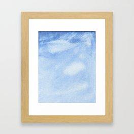 Clear Sky Framed Art Print