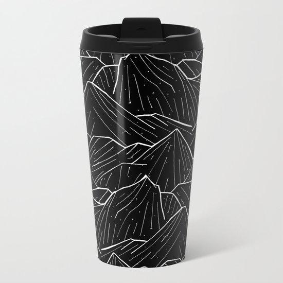 The Dark Mountains Metal Travel Mug