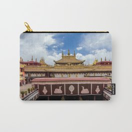 The Jokhang Temple in Lhasa, Tibet Carry-All Pouch