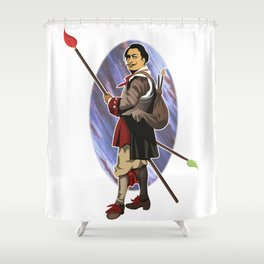 Painter Knights - Dalì Shower Curtain