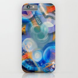 Cosmically Jammed Fabstract Art iPhone Case