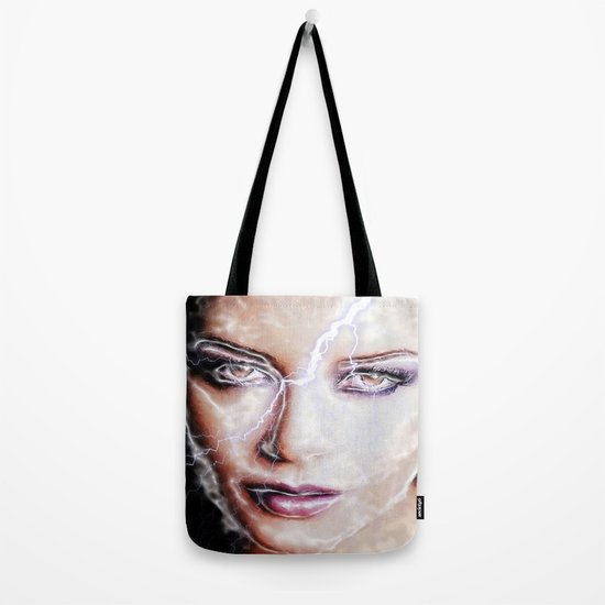Shes Electric Tote Bag