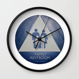 Family Room Wall Clock