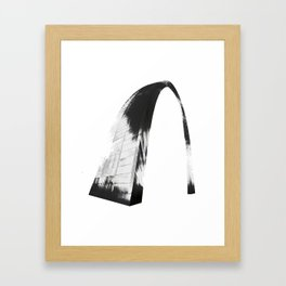 Gateway Arch Threshold Framed Art Print