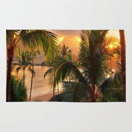 Kauai Tropical Island by OLena Art Rug