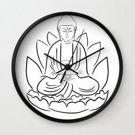 Yogi Buddha Wall Clock