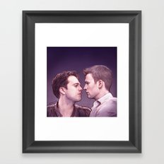 Stucky (Kiss Me) Framed Art Print