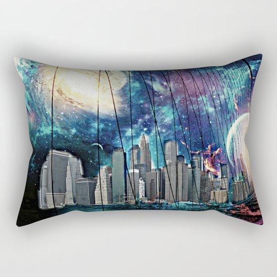 Cosmic New York  Rectangular Pillow