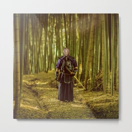 Kendo [bamboo] Metal Print