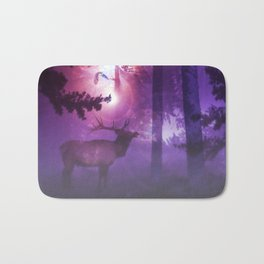The enchanted forest Bath Mat
