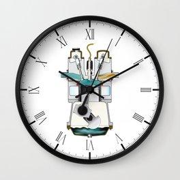 Compression Stroke Wall Clock
