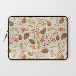 Quiet Walk In The Forest - A Soft And Lovely Pattern Laptop Sleeve