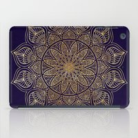 islam iPad Cases featuring Gold Mandala by Mantra Mandala
