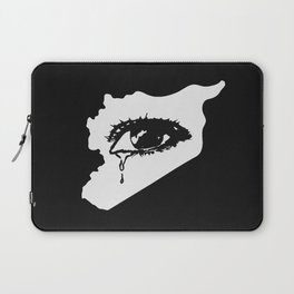 Mourn With Me Laptop Sleeve