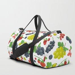Colorful Berries Pattern Duffle Bag