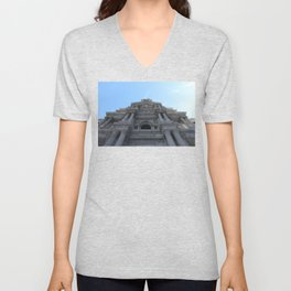 City Hall Wonder (Philadelphia) Unisex V-Neck