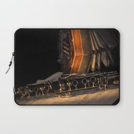 The Clarinet and the Concertina Laptop Sleeve