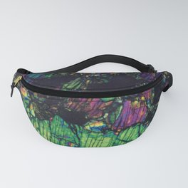Pyroxene Crystals Fanny Pack
