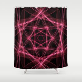A study in pink 30 Shower Curtain