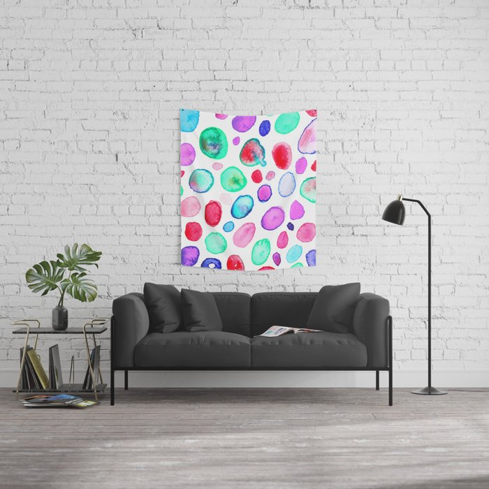 Agate Impressions Wall Tapestry