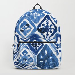Arabesque tile art Backpack