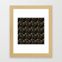 Royal symbols Framed Art Print