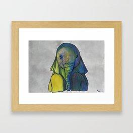 Baby Elephant I Framed Art Print