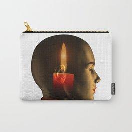 soul, human spirit, inner light Carry-All Pouch
