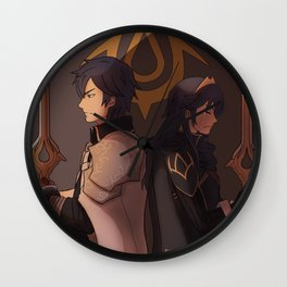 Chrom and Lucina Wall Clock