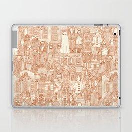 vintage halloween rust ivory Laptop & iPad Skin