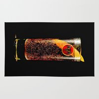 coke Area & Throw Rugs featuring Barcadi Coke by Rothko