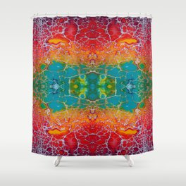 Fragmented 51 Shower Curtain