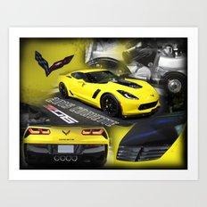 2015 Corvette ZO6 Art Print