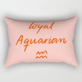 Loyal Aquarian Rectangular Pillow
