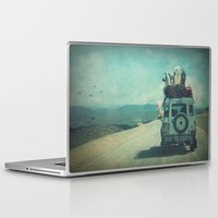 never stop exploring Laptop & iPad Skins featuring NEVER STOP EXPLORING II by Monika Strigel