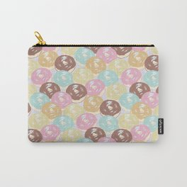 Cascading Donut Pattern Carry-All Pouch