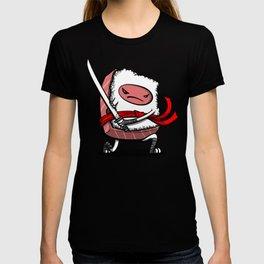 Sushi Ninja Samurai Japanese Food T-shirt