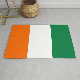 Cote d`Ivoire country flag ivory coast Rug
