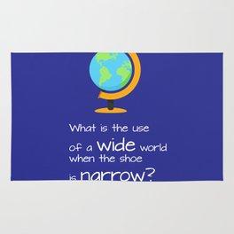 Wide world Rug