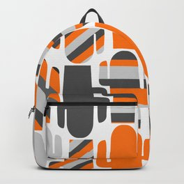 Modern striped cacti Backpack