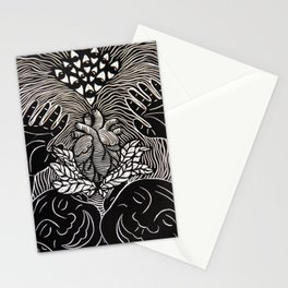 Higher Frequency Vibration. Stationery Cards