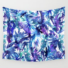 Vibe of the JUNGLE  {B-Blue} Wall Tapestry