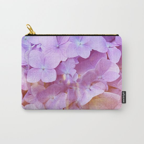 Multicolor beautiful Hydrangea petals - Flowers - Buds - Blossoms Carry-All Pouch