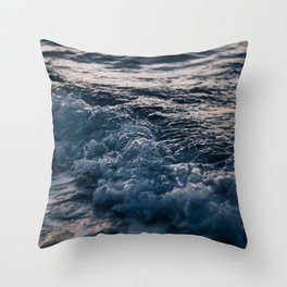 Liquid Sunset Throw Pillow