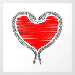 Duality - Love Art Print