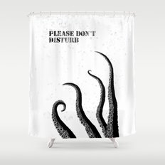 a Tentacles in the shower Shower Curtain