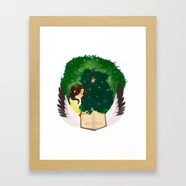 Katherine Circlet Framed Art Print