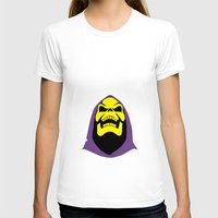 skeletor T-shirts featuring Skeletor Antlers by Iamzombieteeth Clothing