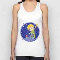 the little prince Tank Tops featuring Little Prince by Bruna Sousa