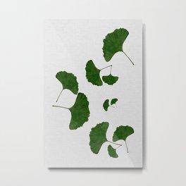 Ginkgo Leaf I Metal Print